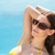közelkép · oldalnézet · úszik · úszómedence · víz · textúra - stock fotó © wavebreak_media