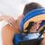 男 · 戻る · マッサージ · 医療 · オフィス · 健康 - ストックフォト © wavebreak_media