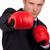businessman with boxing gloves stock photo © wavebreak_media