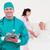 orvosok · megvizsgál · beteg · együtt · kórház · nő - stock fotó © wavebreak_media