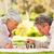 pareja · de · ancianos · jugando · ajedrez · altos · mujer · marido - foto stock © wavebreak_media