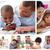 kollázs · szülők · gyerekek · otthon · nő · mosoly - stock fotó © wavebreak_media
