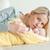 jonge · moeder · ontspannen · baby · familie · liefde - stockfoto © wavebreak_media