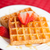 mitad · corte · fresa · junto · blanco · placa - foto stock © wavebreak_media