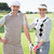 golfer · golfclubs · glimlachend · man · landschap - stockfoto © wavebreak_media