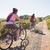 nő · lovaglás · bicikli · napos · biciklizik · út - stock fotó © wavebreak_media