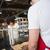 garçom · cliente · em · pé · contrariar · restaurante · retrato - foto stock © wavebreak_media