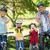 boldog · család · bicikli · remek · park · napos · idő · nő - stock fotó © wavebreak_media
