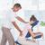 Maakt · een · reservekopie · massage · vrouwelijke · patiënt · kliniek · vrouw - stockfoto © wavebreak_media