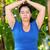 kadın · yoga · açık · havada · spor · yaşam · tarzı · gökyüzü - stok fotoğraf © wavebreak_media
