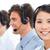 tolakodó · üzletemberek · ügyfélszolgálat · beszél · headset · számítógép - stock fotó © wavebreak_media