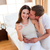 figyelmes · pár · megállapítás · ki · eredmények · terhességi · teszt - stock fotó © wavebreak_media