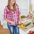 bela · mulher · páprica · casa · cozinha · mulher - foto stock © wavebreak_media
