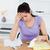 frustrato · contabili · donna · carta · lavoro - foto d'archivio © wavebreak_media