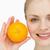 笑顔の女性 · カット · オレンジ · 美しい - ストックフォト © wavebreak_media