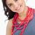çekicilik · kolye · yalıtılmış · beyaz · sevmek · kadın - stok fotoğraf © wavebreak_media