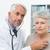 doctor · de · sexo · masculino · consulta · altos · paciente · femenino · sesión - foto stock © wavebreak_media
