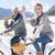 unbeschwert · Paar · Fahrrad · Strand · Kamera - stock foto © wavebreak_media