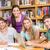 kolej · Öğrenciler · ödev · kütüphane · grup · kadın - stok fotoğraf © wavebreak_media