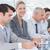üzleti · csapat · jegyzetel · konferencia · iroda · üzlet · megbeszélés - stock fotó © wavebreak_media