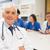 tıbbi · profesör · gülen · kamera · sınıf · üniversite - stok fotoğraf © wavebreak_media