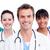 retrato · positivo · médicos · equipo · blanco · trabajo - foto stock © wavebreak_media
