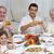 carne · vinho · isolado · branco · fundo · jantar - foto stock © wavebreak_media