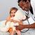médecin · cute · fille · hôpital · bureau - photo stock © wavebreak_media