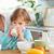 sağlıklı · kahvaltı · brunch · ahşap · kahve · meyve - stok fotoğraf © wavebreak_media
