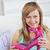 attrattivo · donna · rosa · scarpa - foto d'archivio © wavebreak_media