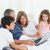 Family looking at their laptop at home stock photo © wavebreak_media