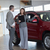 Businesswoman showing a car in a dealership stock photo © wavebreak_media