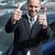Happy man raising his thumbs outdoors stock photo © wavebreak_media