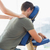 vrouwelijke · schouder · massage · man · stoel - stockfoto © wavebreak_media