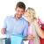 expectante · casal · fora · compras · bebê · compras - foto stock © wavebreak_media
