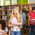 főiskola · diákok · könyvtár · csoport · könyvek · iskola - stock fotó © wavebreak_media