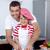 figlio · di · padre · pane · cucina · famiglia · uomo - foto d'archivio © wavebreak_media