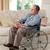 idős · férfi · tolószék · otthon · orvosi · egészség - stock fotó © wavebreak_media