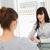 iş · kadını · oturma · büro · sorular · aday · iş - stok fotoğraf © wavebreak_media
