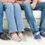 Menschen · Sitzung · Couch · Kamera · erschossen · Fuß - stock foto © wavebreak_media