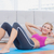счастливым · осуществлять · коврик · для · йоги · спортзал · спорт - Сток-фото © wavebreak_media