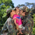 army parents reunited with their daughter stock photo © wavebreak_media