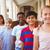 Smiling little school kids in school corridor stock photo © wavebreak_media