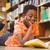 kicsi · fekete · fiú · olvas · könyvek · portré - stock fotó © wavebreak_media