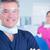 gülen · dişçi · asistan · gözlük · diş · klinik - stok fotoğraf © wavebreak_media