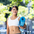 smiling athletic woman carrying yoga mat stock photo © wavebreak_media
