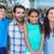 gelukkig · gezin · mall · vrouw · voorjaar - stockfoto © wavebreak_media