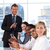 ビジネスマン · 拍手 · チーム · 会議 · 小さな · オフィス - ストックフォト © wavebreak_media