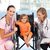 Little girl in a wheelchair with nurse and doctor stock photo © wavebreak_media