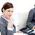 ブレーク · オフィス · ドーナツ · ノートパソコンのキーボード · ビジネス · 食品 - ストックフォト © wavebreak_media